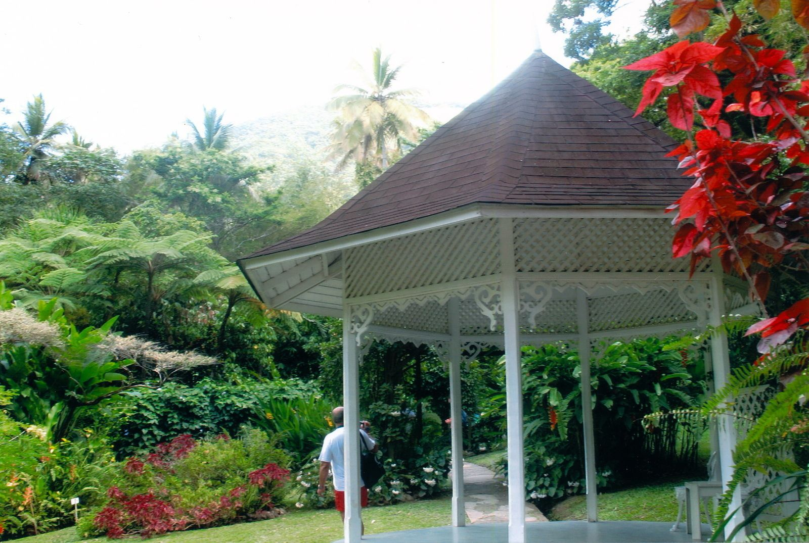 Diamond Botanical garden en 2007