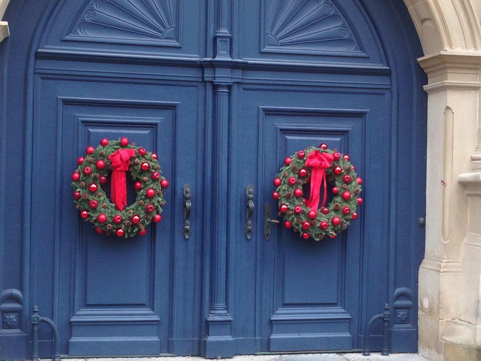 Couronnes de Noël - Palais Grand Ducal de Luxembourg