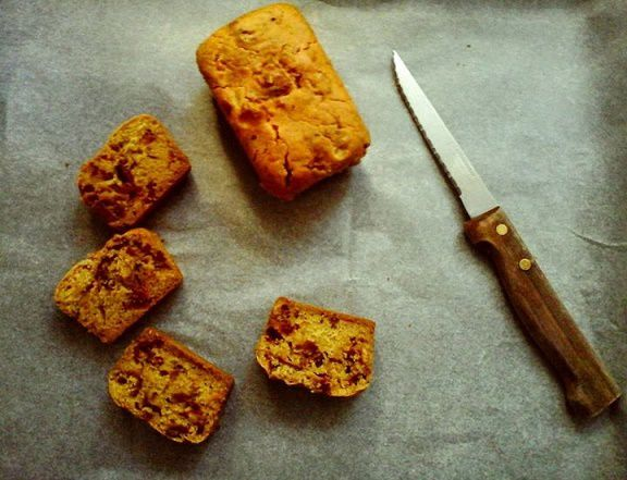Mini cakes aux tomates séchées et safran sans gluten
