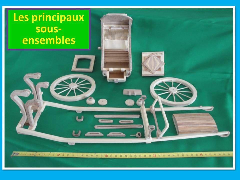 La chaise de poste maquettes hippomobiles for Chaise de poste