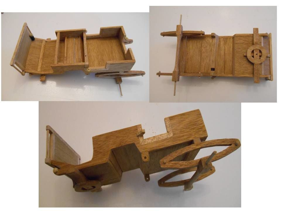 Maquette du phaéton transformable, ou convertible (article 2/2)