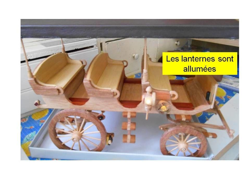 Maquette du char à bancs