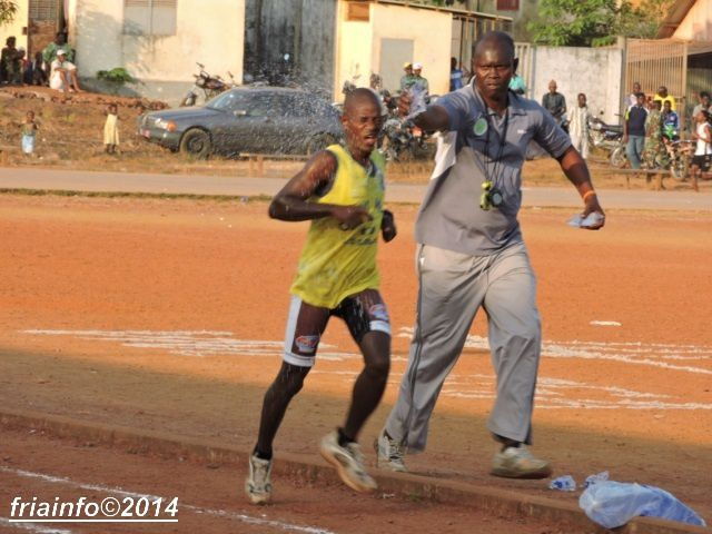 MEETING D'ATHLETISME 2014 : FRIA RAFLE ENCORE LA MISE