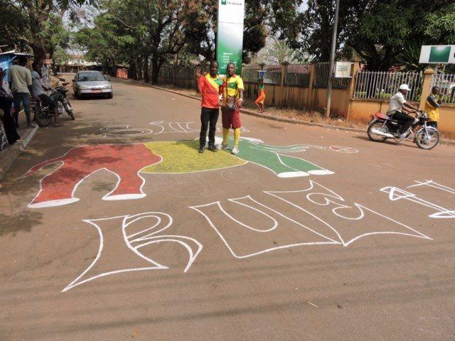 SYLI NATIONAL - COTE-D'IVOIRE : LES IMAGES D'AVANT MATCH A FRIA