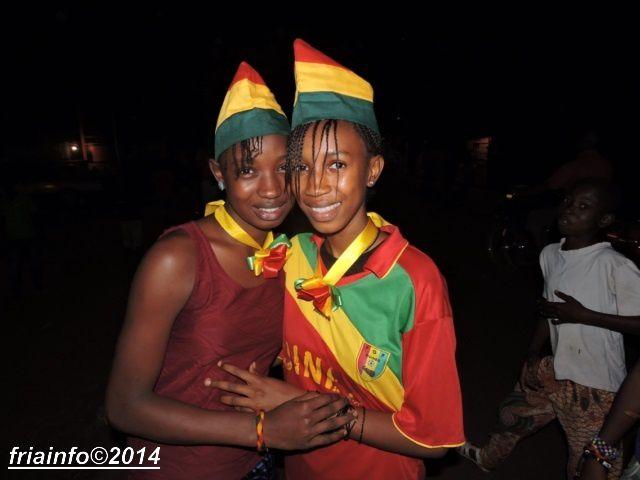 FRIA : IMAGES D'APRES-MATCH GUINEE VS CAMEROUN