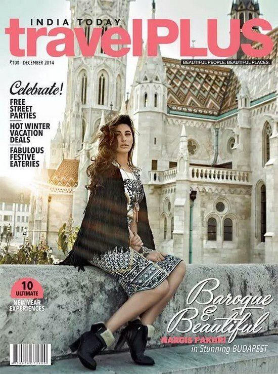 Nargis Fakhri fait la couverture du magazine Travel Plus