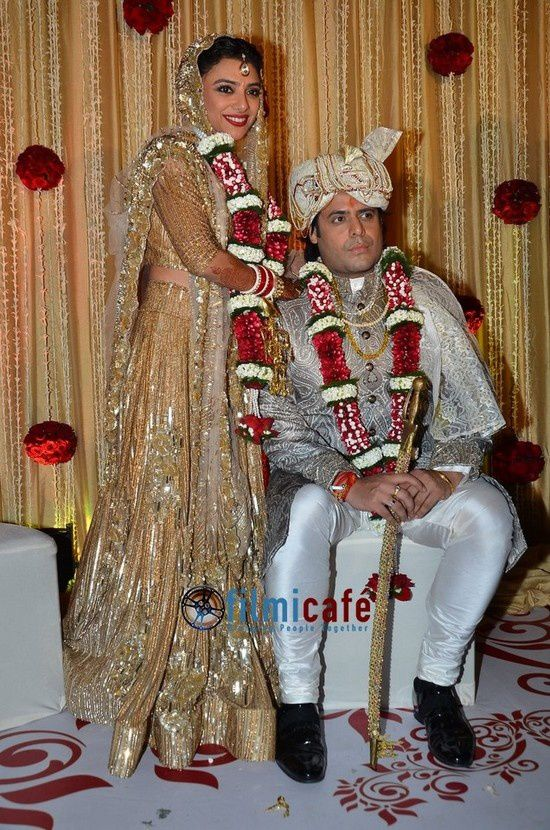 Shahrukh Khan, Madhuri Dixit au mariage d'Uday Singh et Shirin Morani