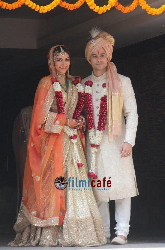 Soha Ali Khan &amp&#x3B; Kunal Khemu mariés !