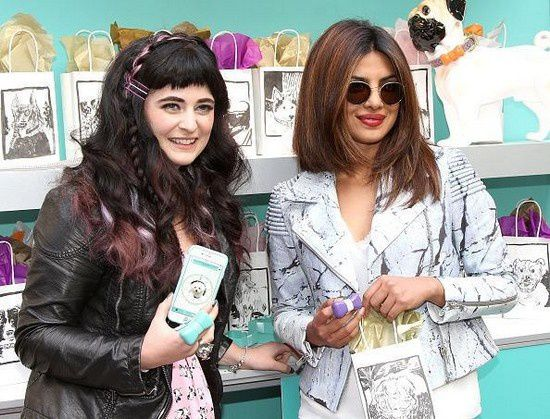 Priyanka Chopra aux GBK Pre-Oscar Awards Luxury Gift Lounge 2015