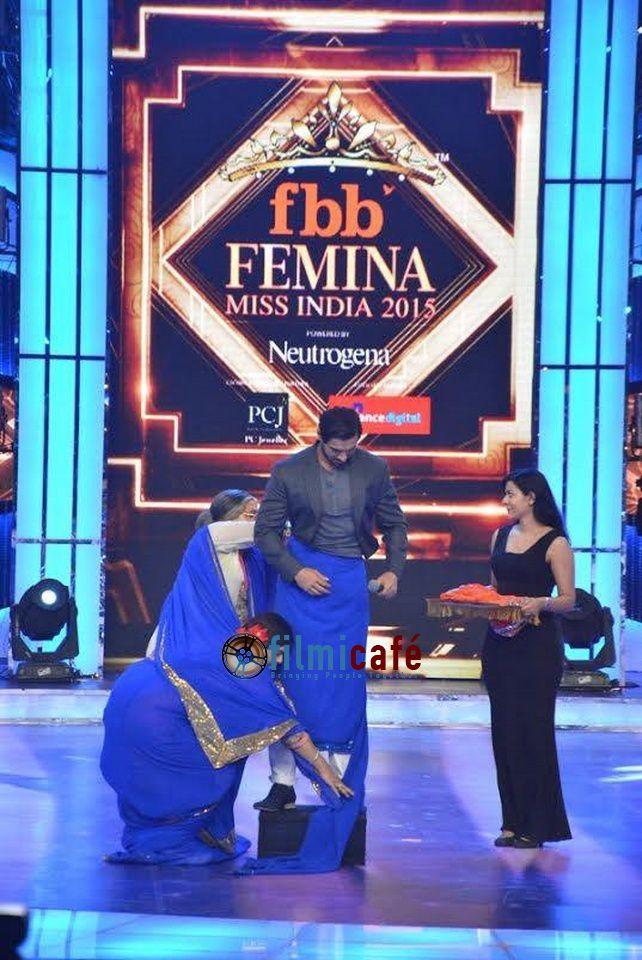 Les célébrités de Bollywood aux Femina Miss India Grande Finale