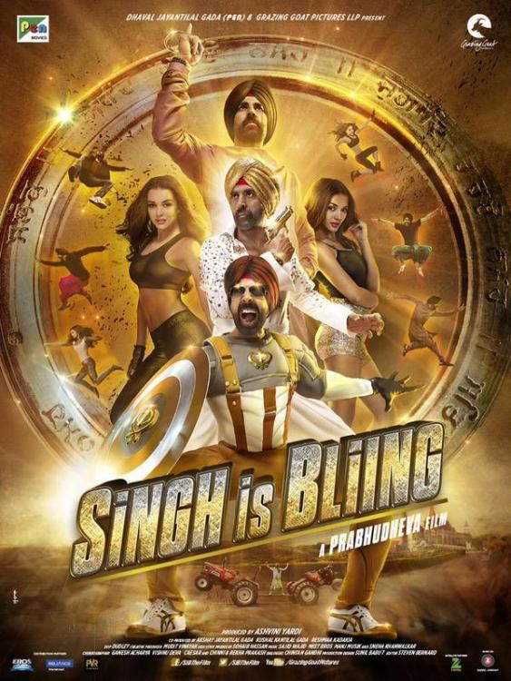 Affiche du film Singh is Bling