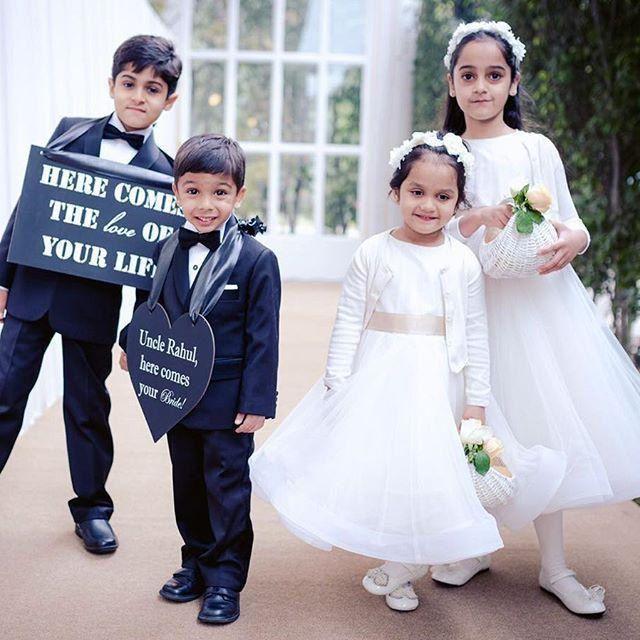 Asin lors de son mariage