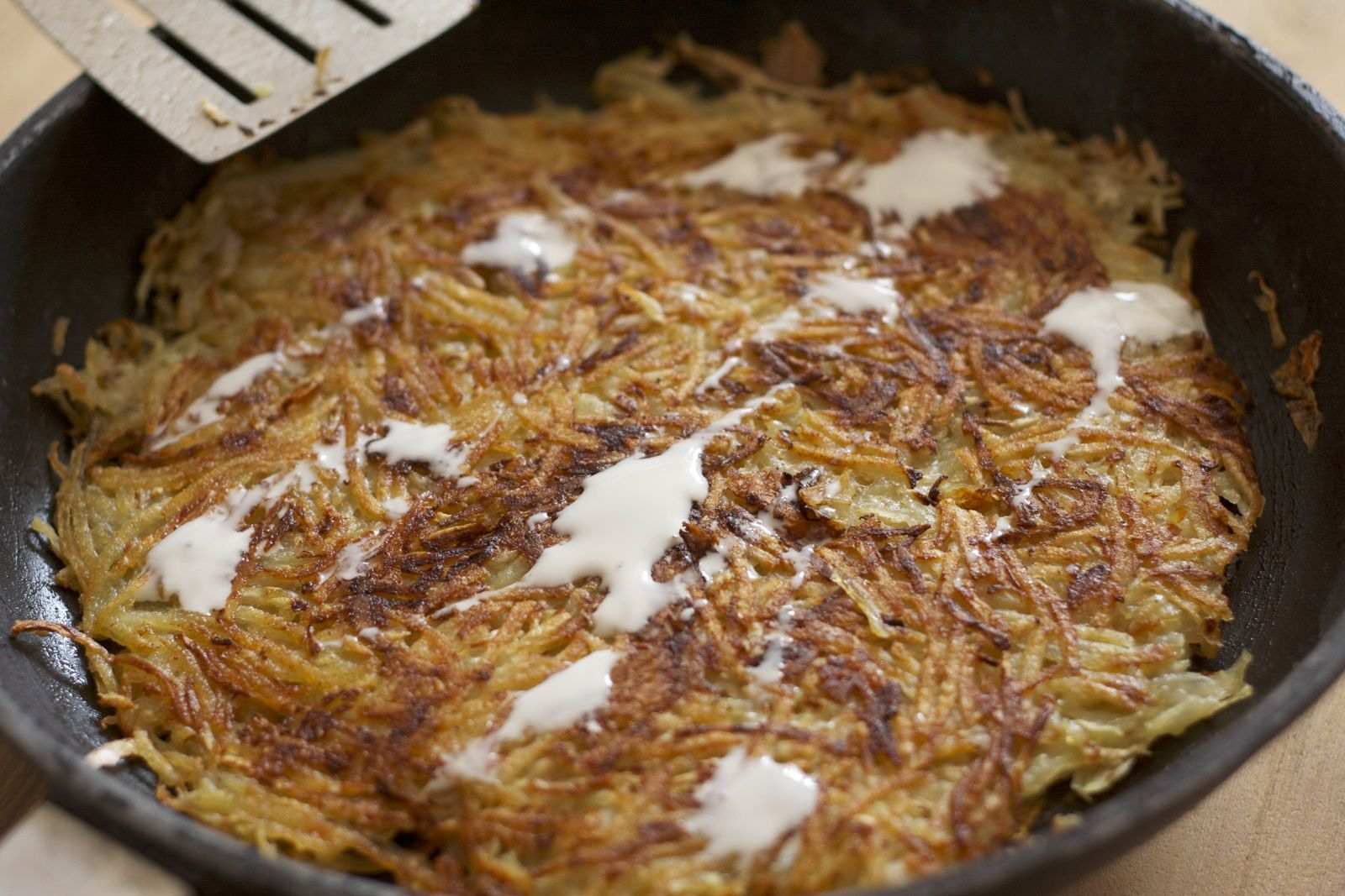 Râpée de pommes de terre et de céleri rave
