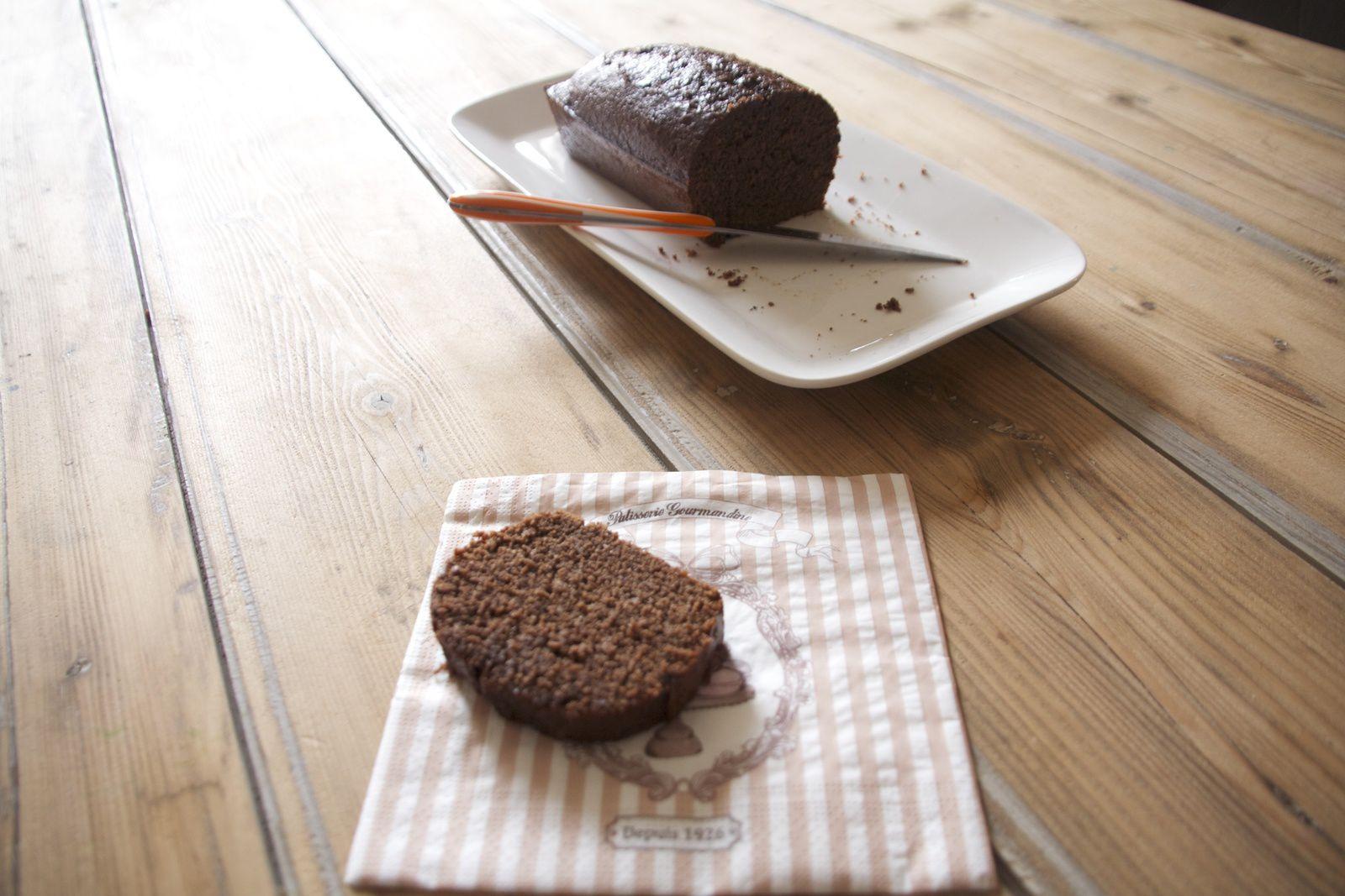 Le cake au chocolat de la Mère de Famille
