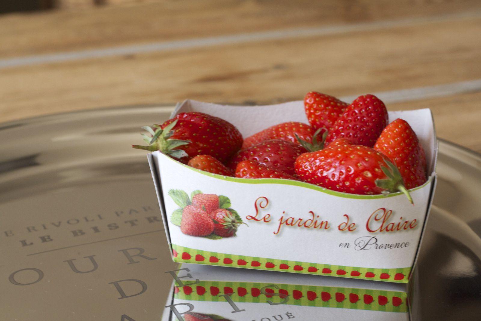 Roulé choco-fraises à la poudre praliné Weiss