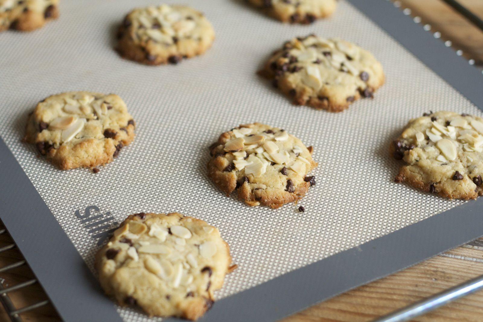 Cookies aux amandes effilées et pépites de chocolat Weiss