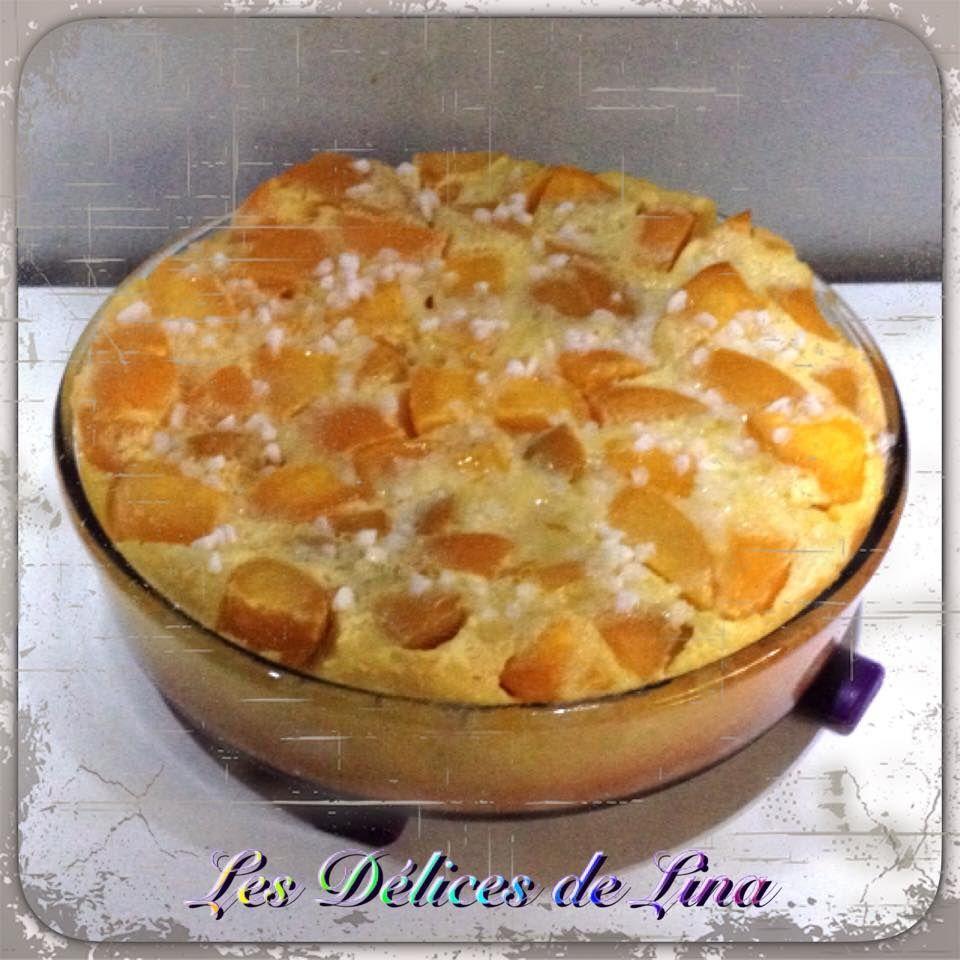 Clafoutis vanill aux p ches famille nombreuse maman for Cuisine famille nombreuse