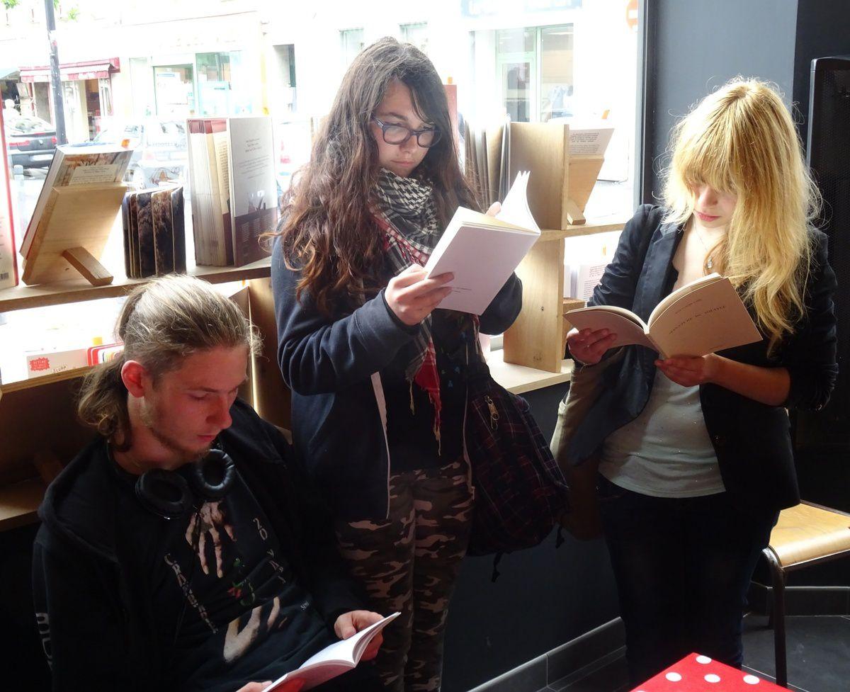 Les 1 L de l'Iroise braquent une librairie brestoise !