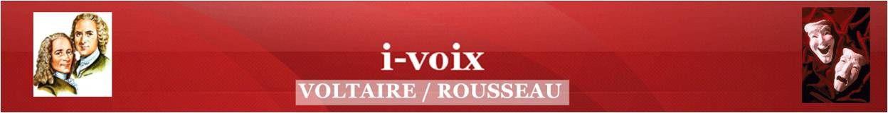 Voltaire / Rousseau 1 - A quatre pattes ?