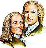 Association - Voltaire / Rousseau par Jean-François Prévand