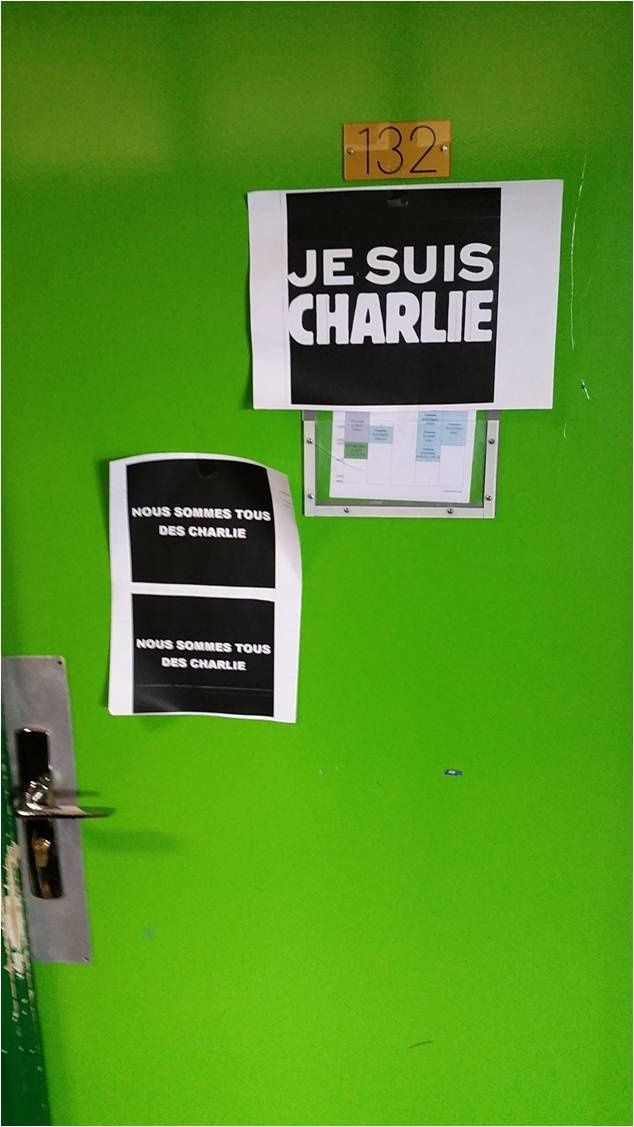 Lycée de l'Iroise, salle 132, jeudi 8 janvier 2015