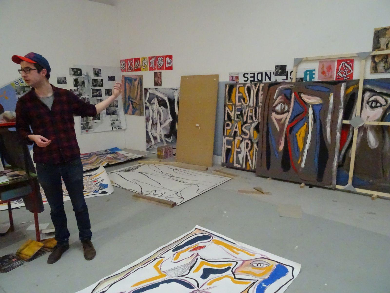 Ateliers : de la peinture à l'écriture