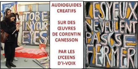 Audioguide - Corentin Canesson par Emilie