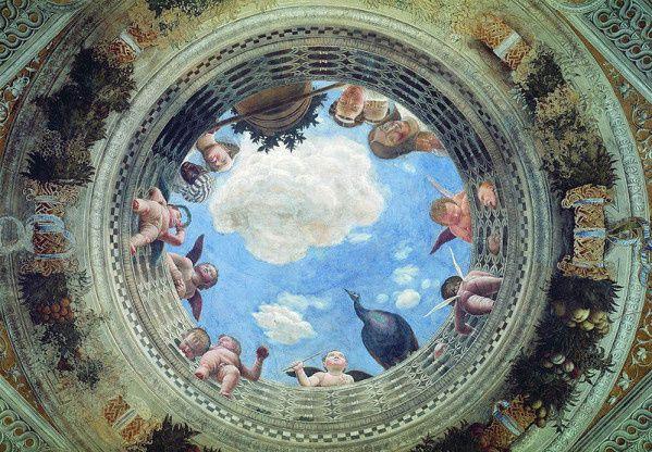 Plafond de la chambre des époux
