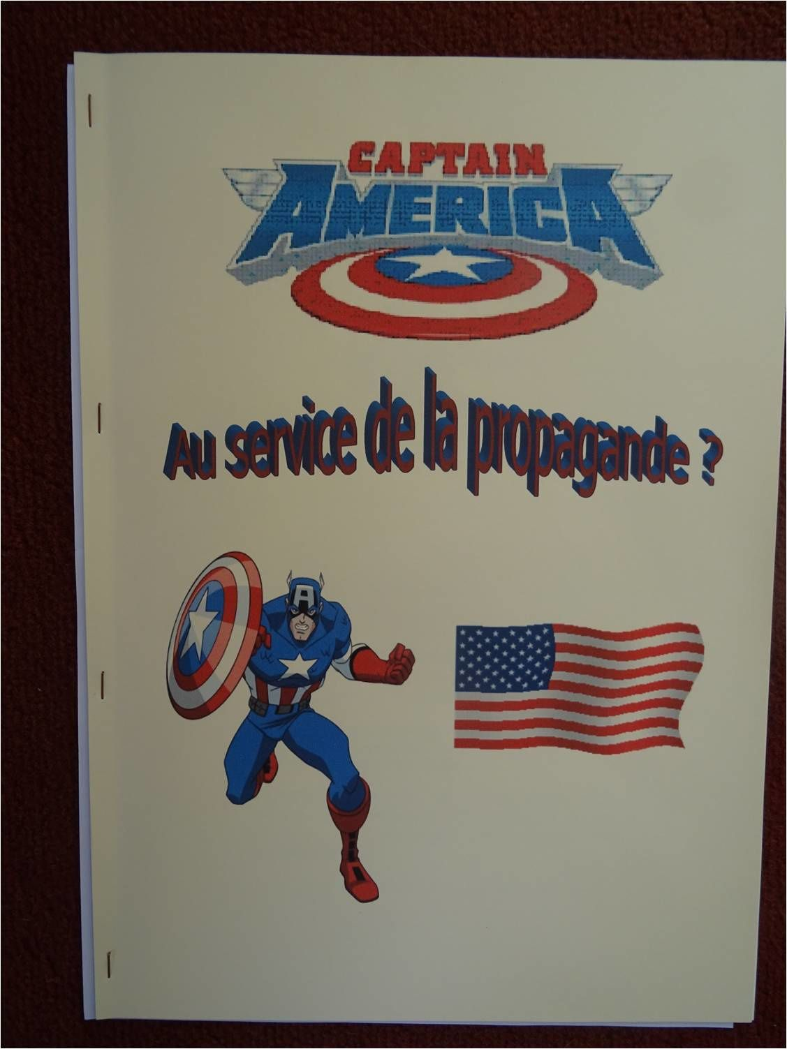 TPE - Captain America