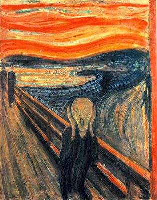 Le cri - Edvard Munch (1893)