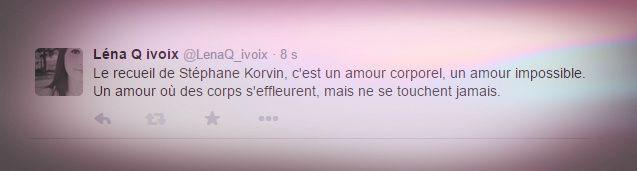 Tweet-Résumé - Stéphane Korvin