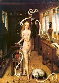 """""""La Magie de l'amour"""", tableau anonyme du XVe siècle."""