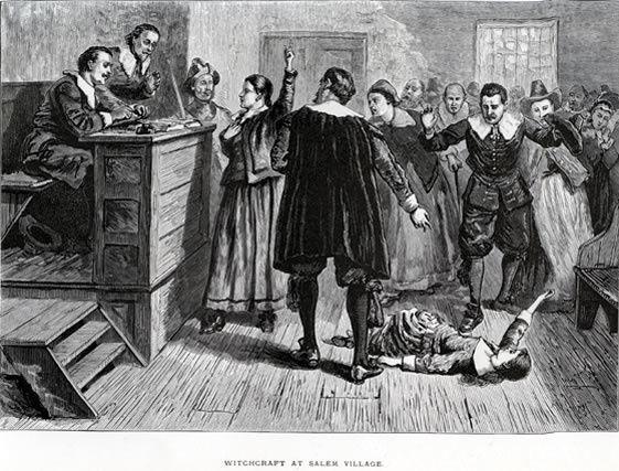 Jugement des sorcières de Salem