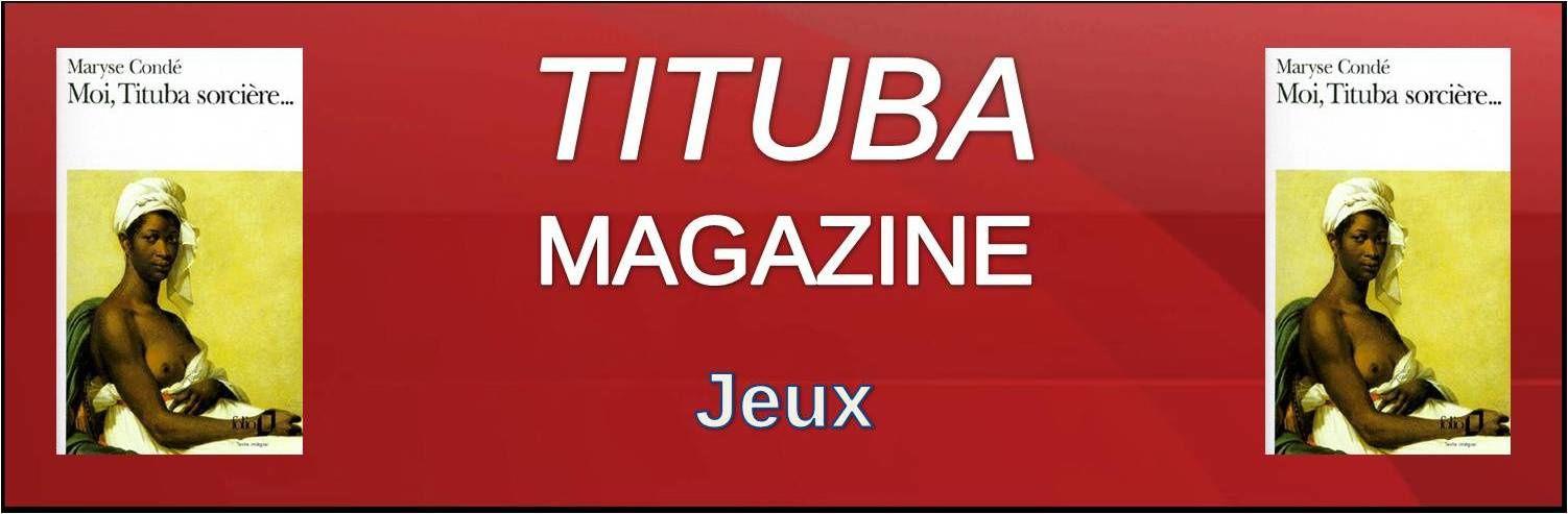 Jeux - Les mots mêlés de Tituba Magazine