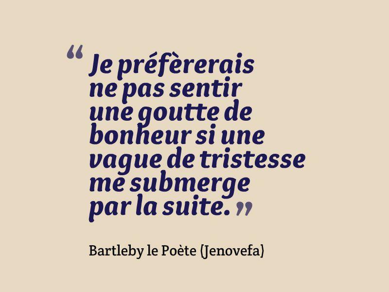 Bartleby le Poète - Goutte
