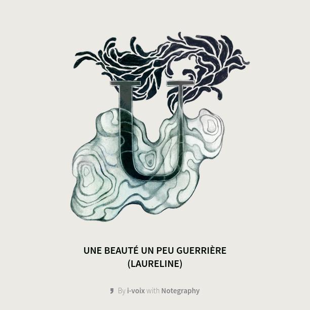 Laureline lit Cécile Portier