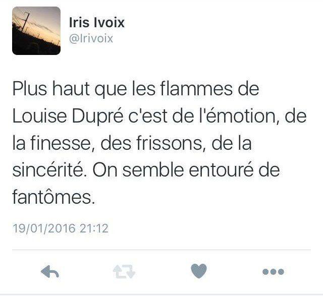 Tweet rhétorique  - Louise Dupré