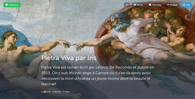 Michelangelo tweete !