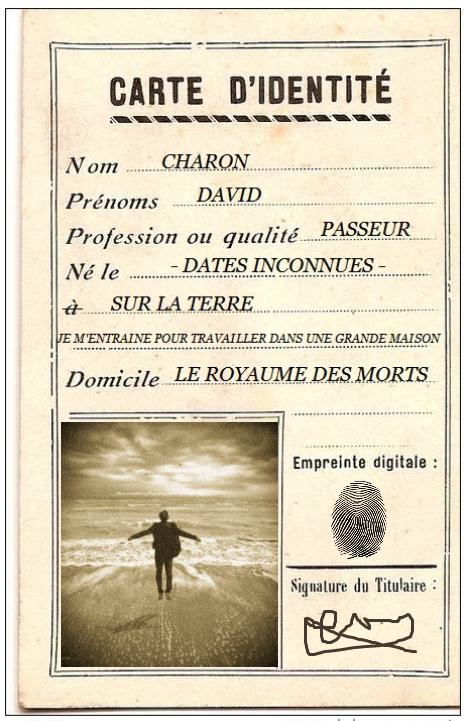 Carte d'identité - Laure Cambau