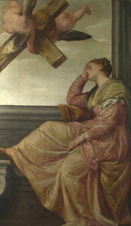 Veronese (1528-1588)  - La révélation de Sainte Hélène