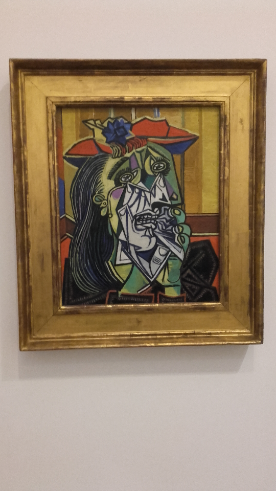 Weeping Woman, Pablo Picasso (1937)
