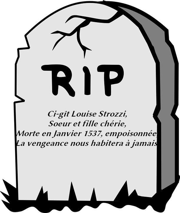Avis de décès - Louise Strozzi