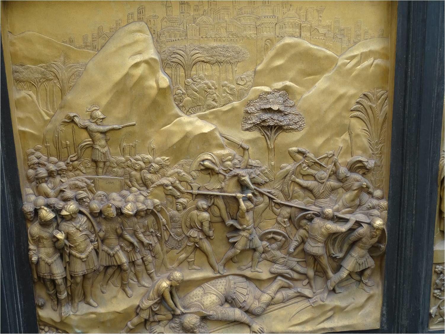 Lorenzo Ghiberti, Porte du Paradis, Baptistère de Florence