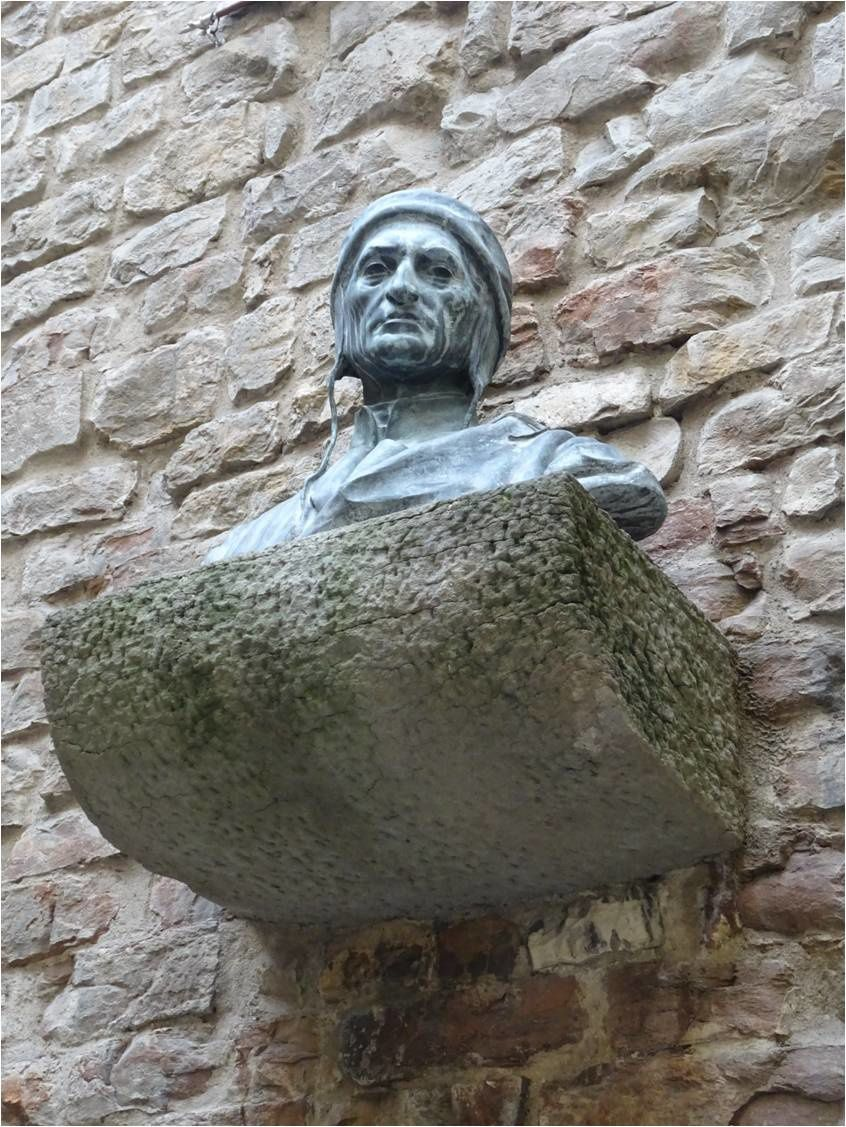 Buste de Dante