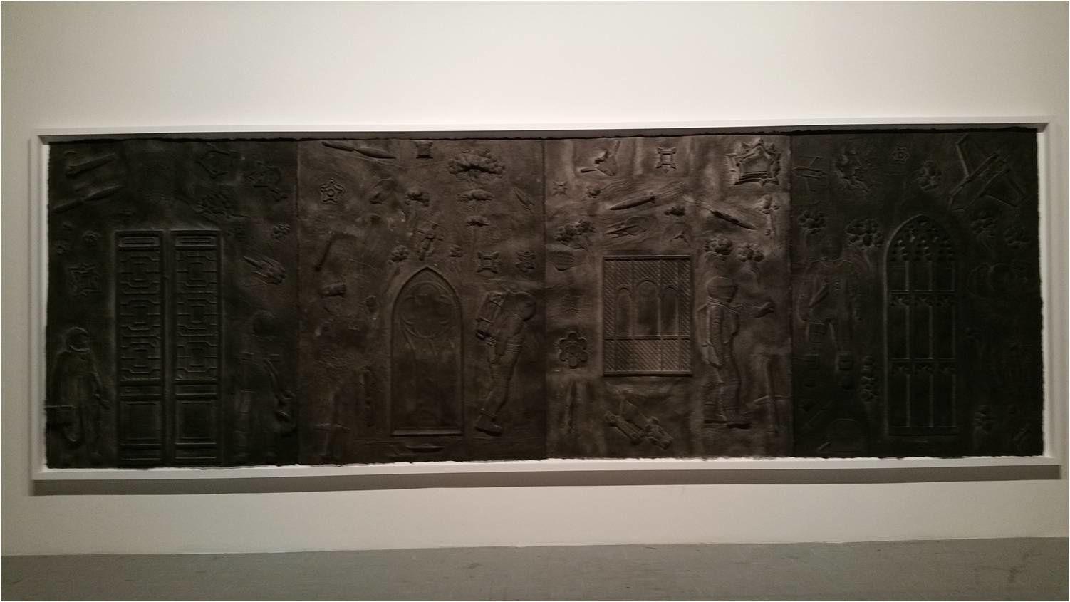 San Gimignano, Galerie Continua, 16-03-16, Exposition Qiu Zhijie