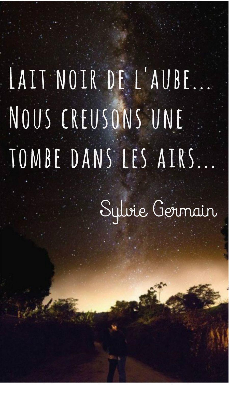 Phrase de Sylvie Germain