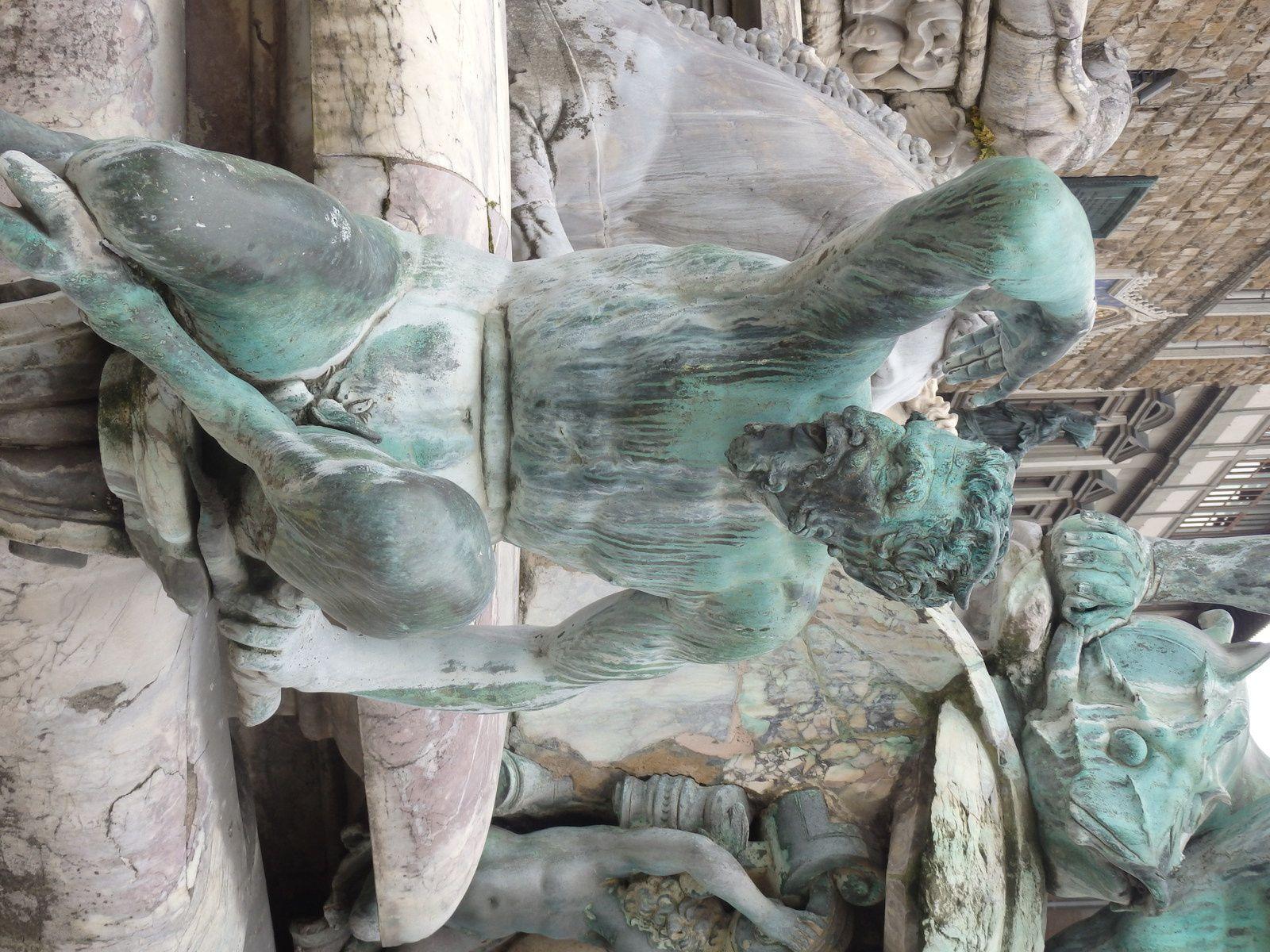 Décapitation - Fontaine de Neptune