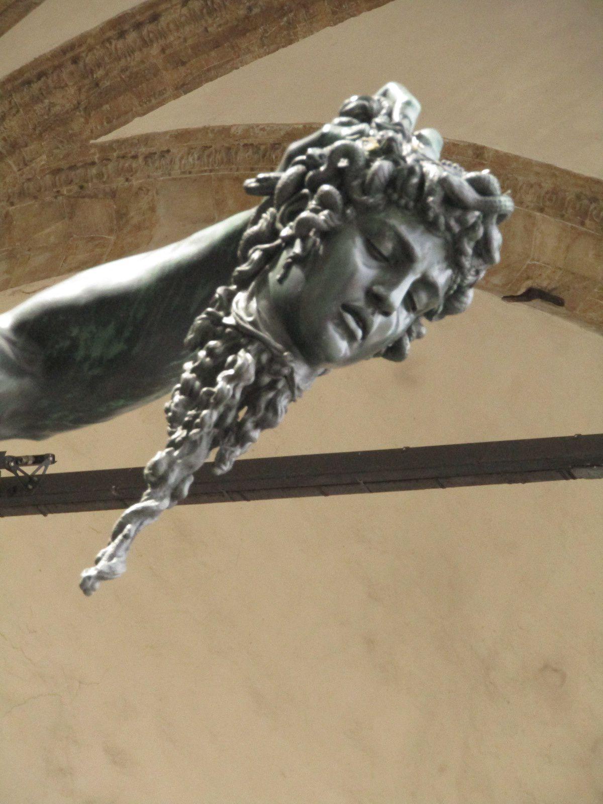Persée Délivrant Andromède, Tête de Méduse