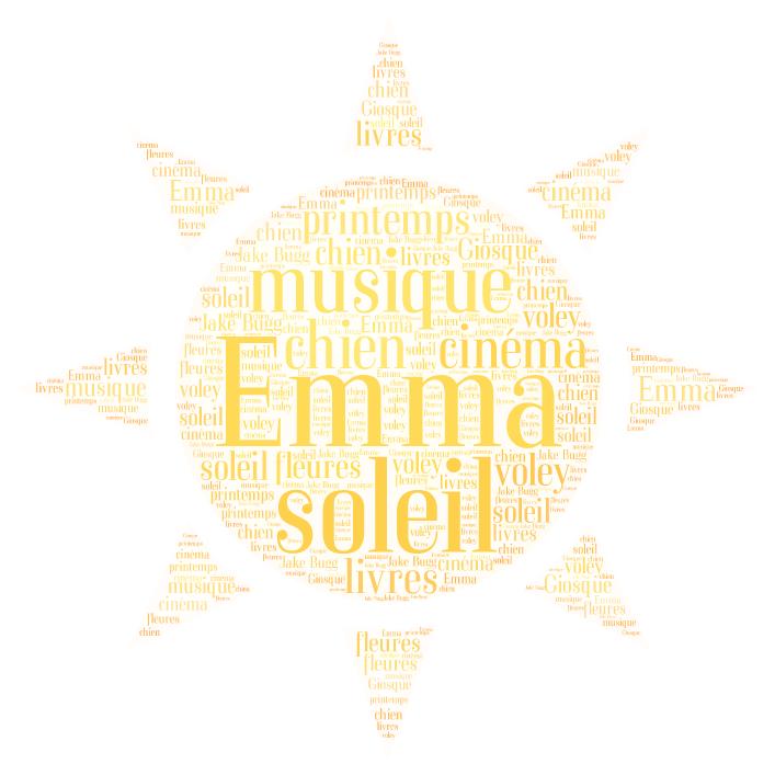 Autoportrait sur un nuage - Emma