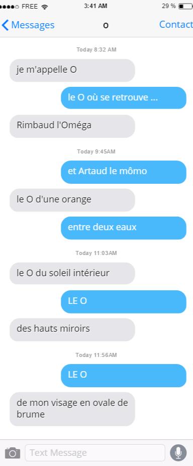 SMS - Zéno Bianu
